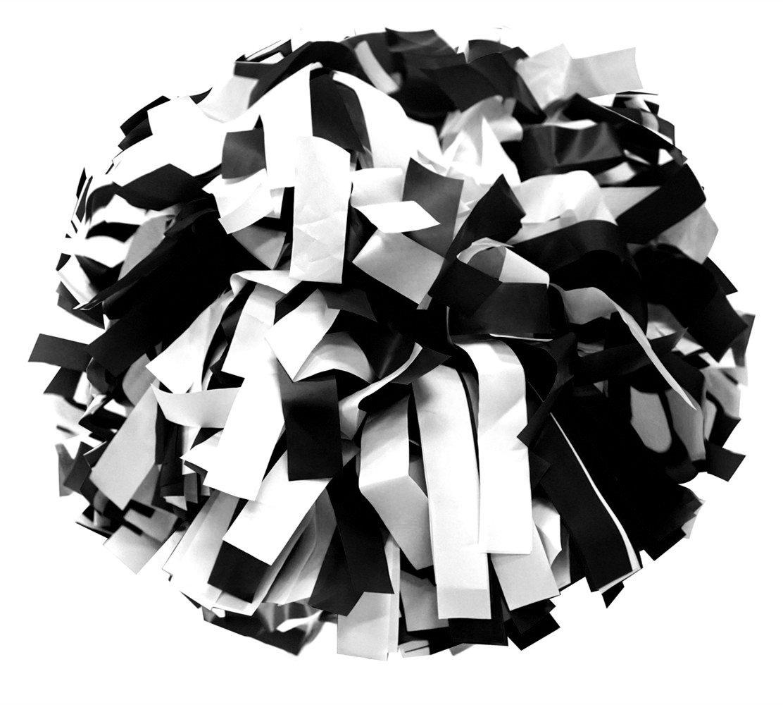 Paar- Kunststoff Cheerleading Pompons mit Taktstock Griff Jawl