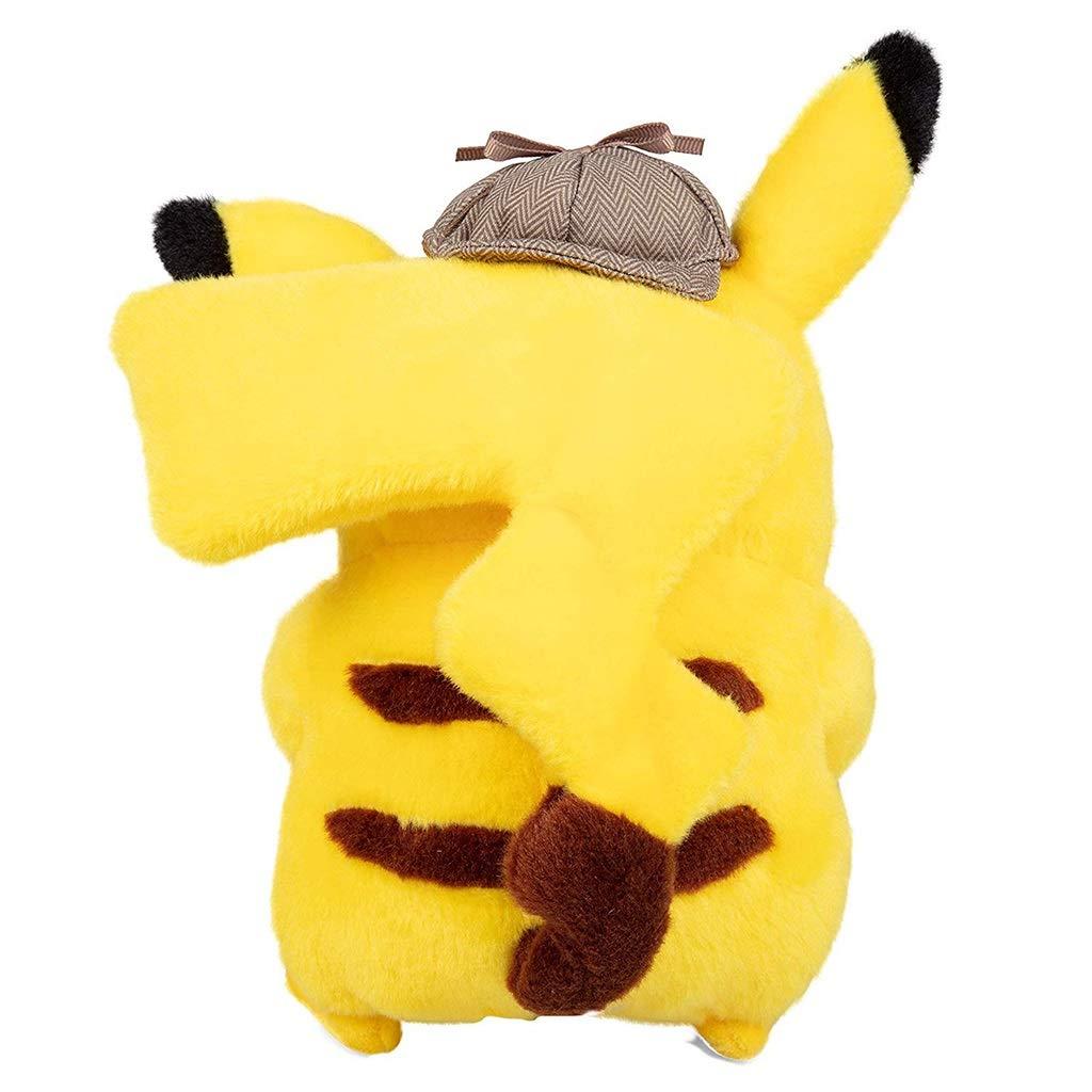 GJF Elf Tesoro sue/ño versi/ón de la pel/ícula del Gran Detective Pikachu Peluche mu/ñeca Regalo