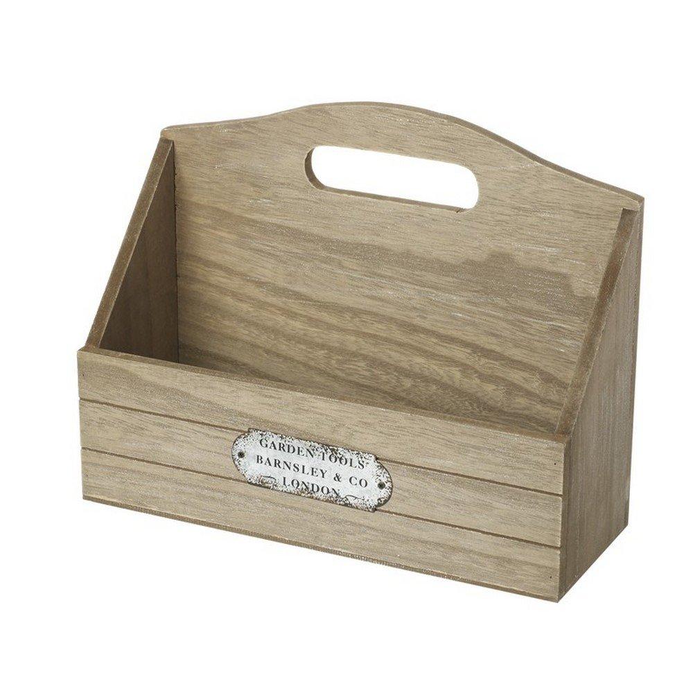 Heaven Sends Wooden Shelf Unit (One Size) (Brown)