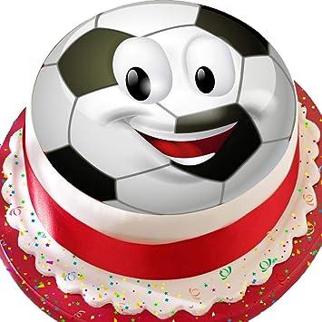 Ballon De Football Noir Et Blanc 191 Cm Emoji Anniversaire