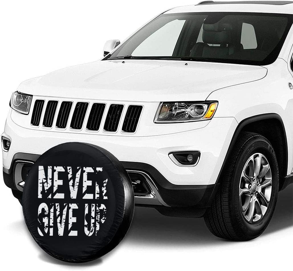 RV SUV and Many Vehicle DIY Love Taste Sea Turtle Spare Tire Cover Polyester Waterproof Dust-Proof Universal Spare Wheel Tire Cover Fit for Jeep,Trailer