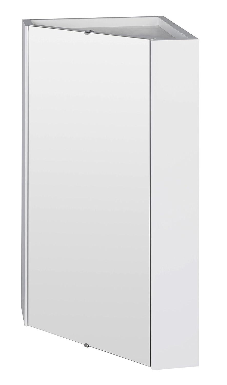 Premier Eckspiegelschrank NVC118 450 mm, Weiß: Amazon.de: Baumarkt