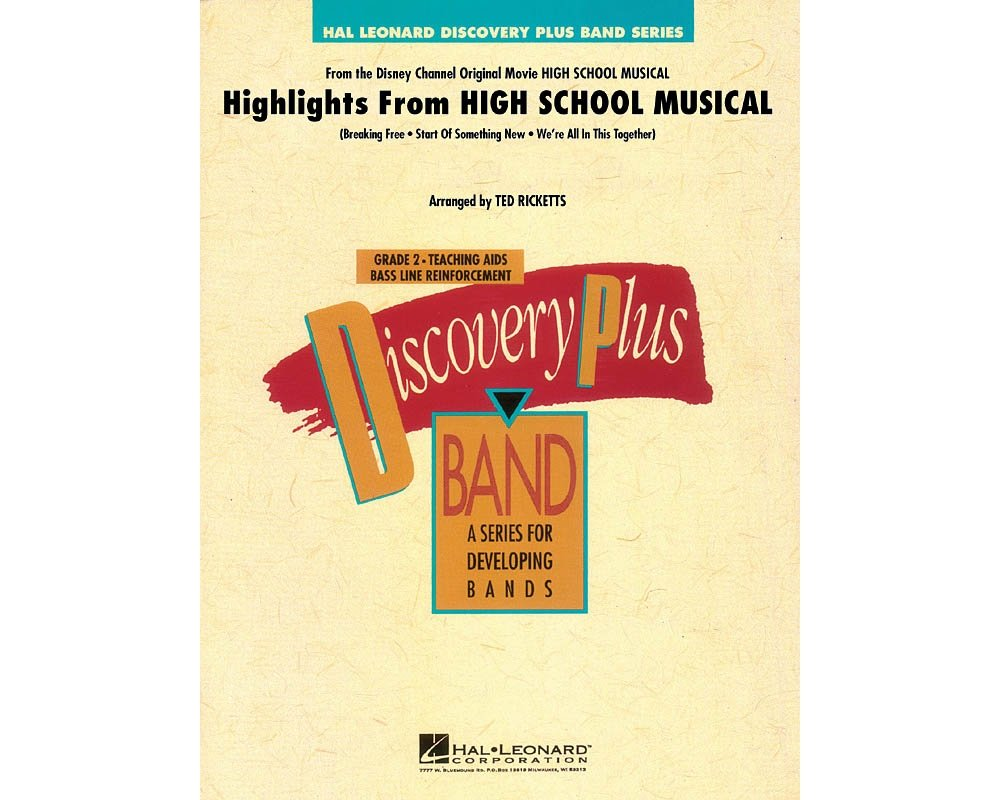 Hal Leonard Highlights from High School Musical - Discovery