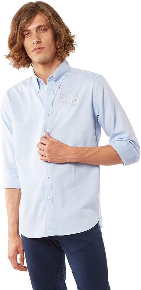 La Martina RAF Camisa Casual para Hombre: Amazon.es: Ropa y accesorios