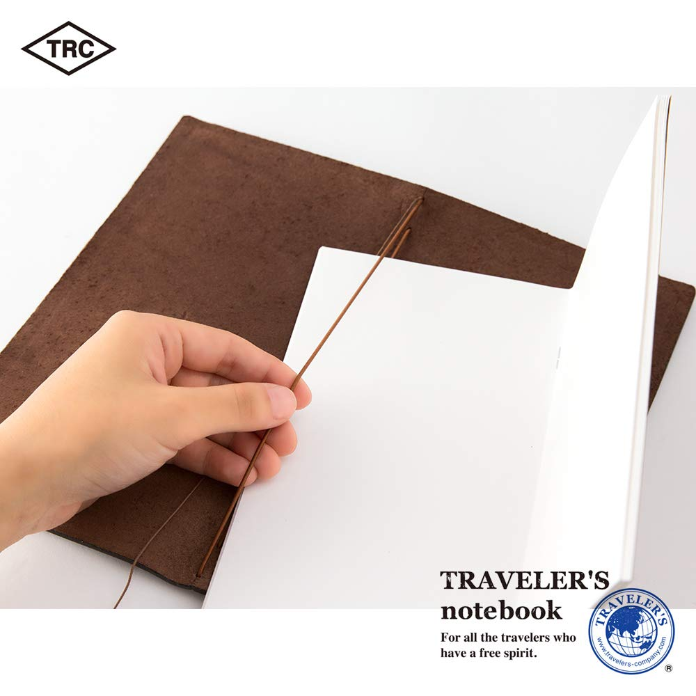Travelers Notebook Brown Leather (1, 1 LB) by Xekia (Image #8)