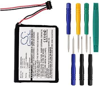 Batería de repuesto 361-0043-00, 361-0043-01 de 600 mAh para ...