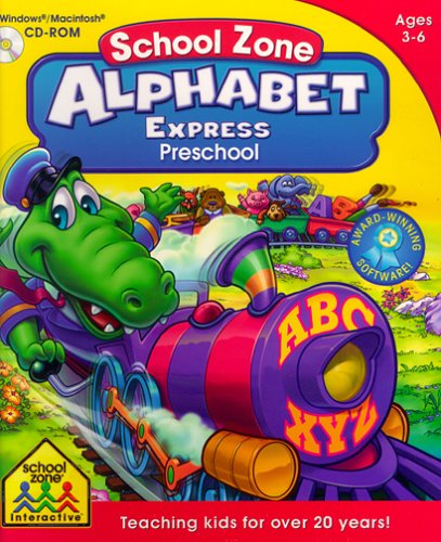 School Zone Alphabet Express Preschool by School Zone