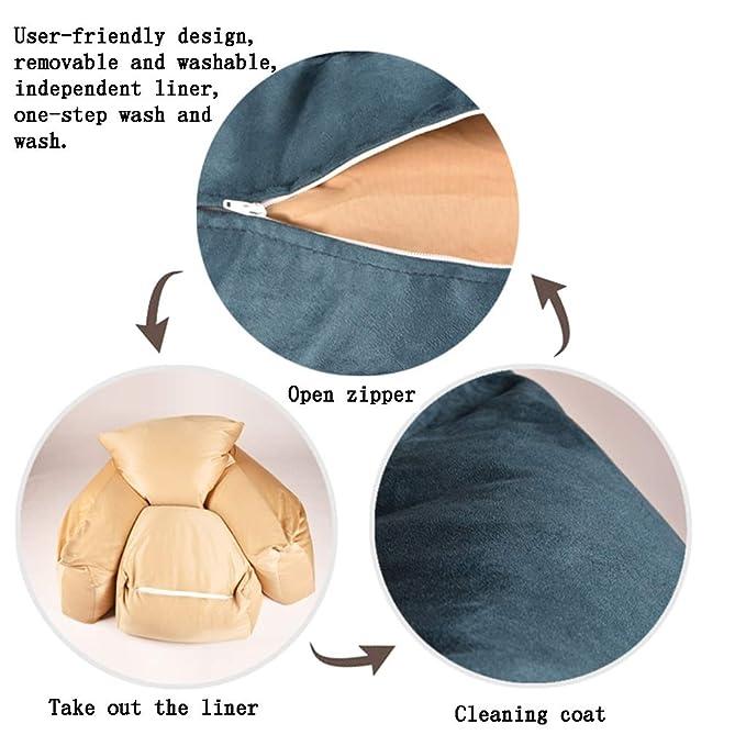 Astonishing Amazon Com Lazy Sofa Bean Bags Bean Bag Chair Removable Creativecarmelina Interior Chair Design Creativecarmelinacom