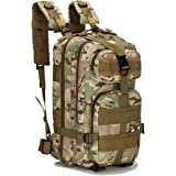 Unafreely 30L Military Tactical Assault Backpack Hiking Bag Molle Bug Out Bag Outdoor Tactical Backpack Military Rucksacks Trekking Waterproof