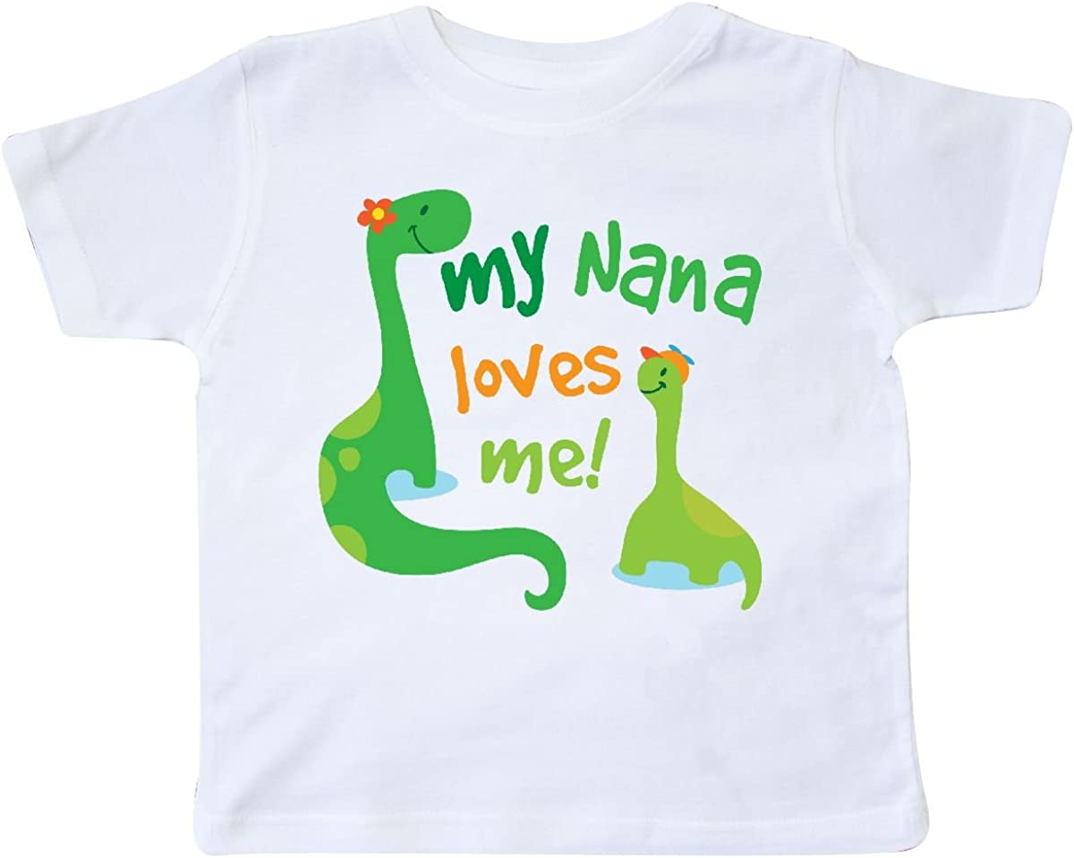 inktastic My Nana Loves Me Grandson Gift Toddler T-Shirt