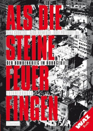 Als die Steine Feuer fingen. Der Bombenkrieg im Ruhrgebiet. Erinnerungen