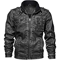 NIUQI Mens Denim Hooded Overcoat Pocket Button Rinsing Flick Jacket Tops Coat
