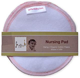 product image for Geffen Baby Nursing Pads Hemp/Organic Cotton Fleece