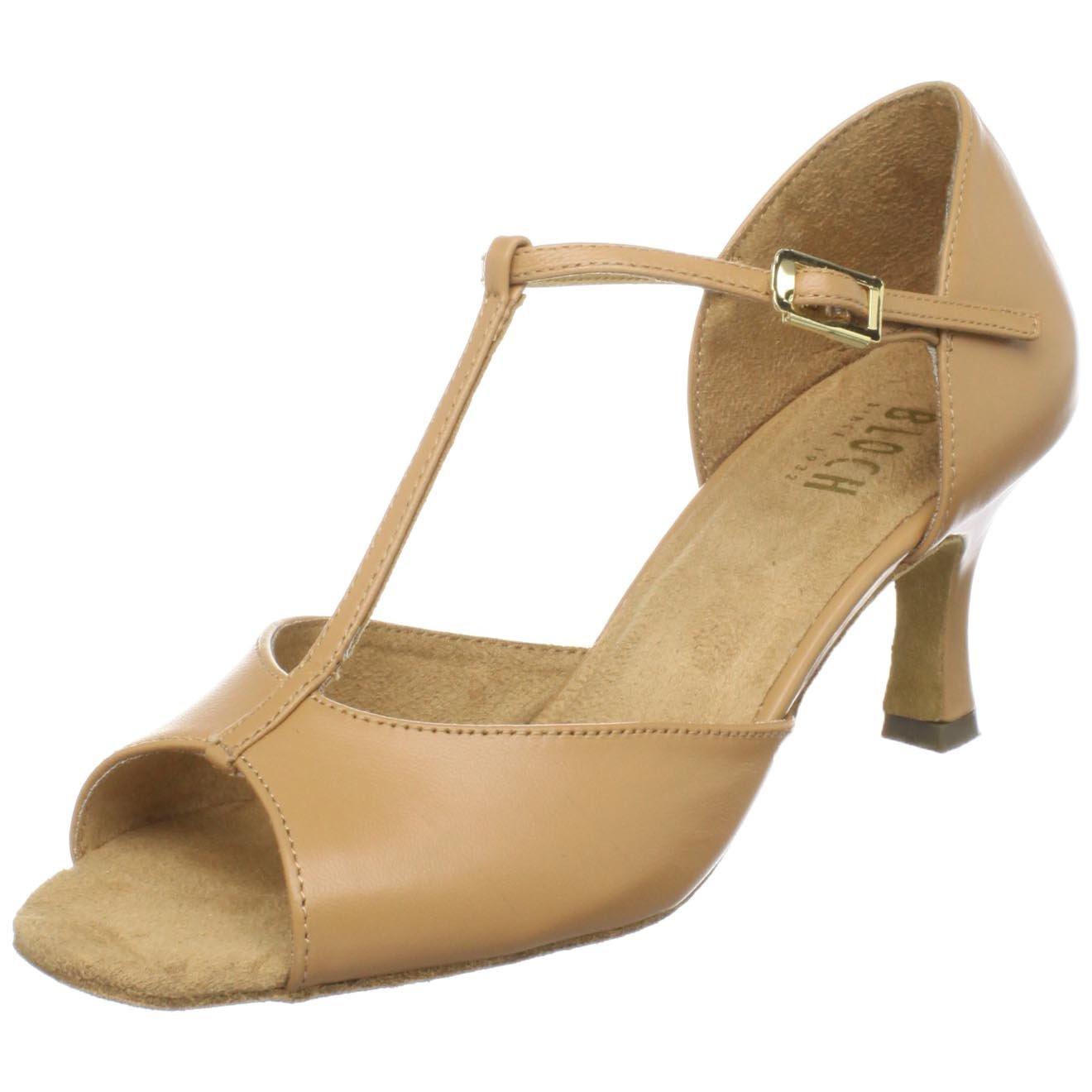 Bloch Women's Issabella Ballroom Shoe,Natural,7.5 M US