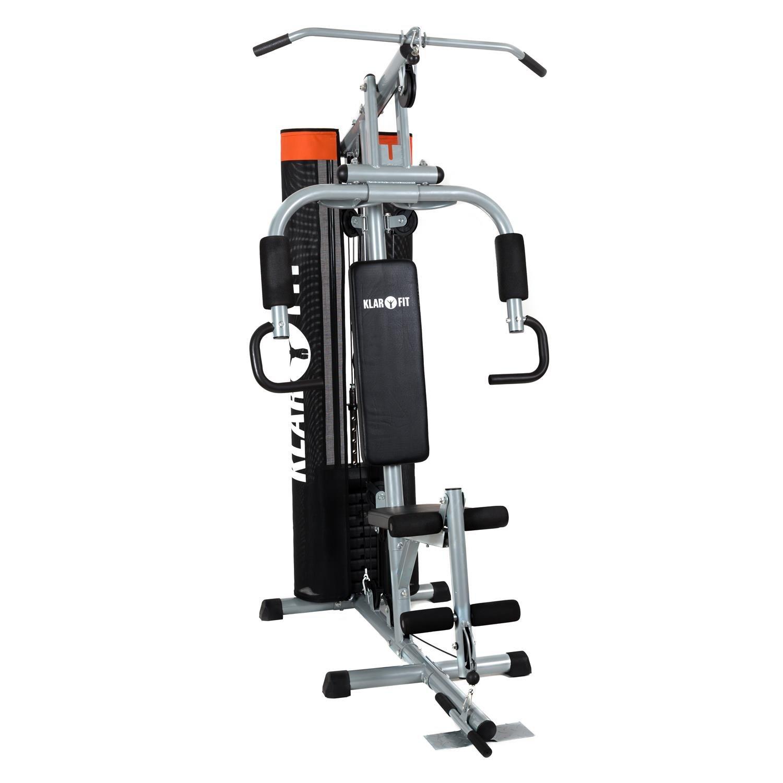 Klarfit The Mountain máquina de fitness (entrenamiento de dorsales, tracción por cable para mano