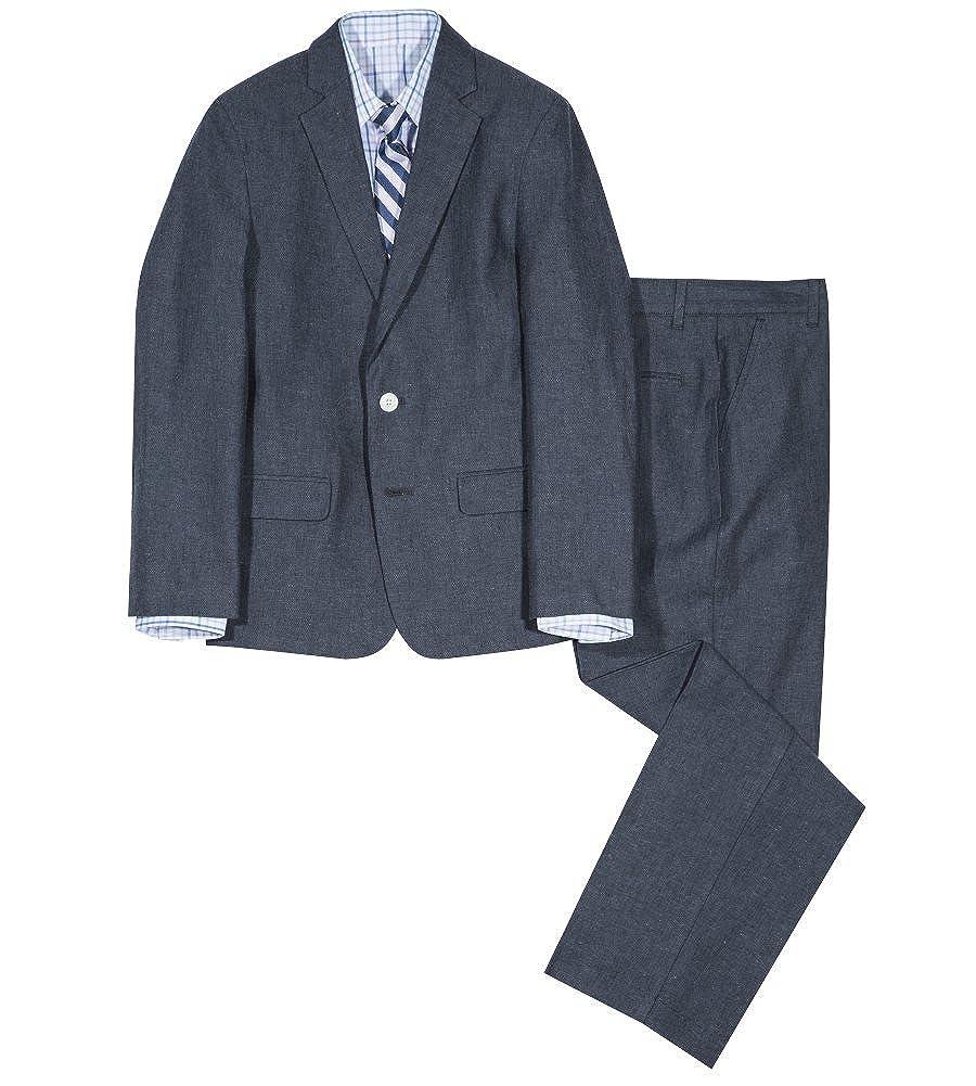 IZOD Boys' 4-Piece Formal Dresswear Suit Set Izod Kids