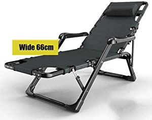 Zero Gravity Lounge Chair/Portable Nap Deck/Folding Beach Chair/Garden Armrest Chair, Hand and Foot Massage Function, Balcony, Lawn Outdoor Recliner, Support 300Kg
