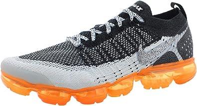 Nike - AIR Vapormax Flyknit 2 [942842-106] White/White/Black/Total Orange