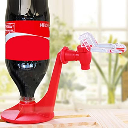 Gugutogo Atractivo Material de Aislamiento Ahorro Botella de Coca-Cola Soda Dispensador de Agua Potable