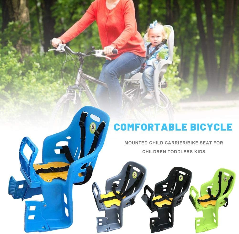 Kids Bike Seat,Baby Bike Seat,Comfortable Bicycle Mounted Child Carrier//Bike Seat for Children Toddlers Kids for Children Toddlers Kids
