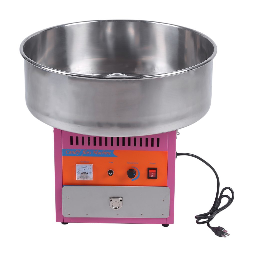 Full Automatical Commercial Cotton Candy Maker Machine Electric Cotton Candy Floss Machine,For Gathering Parties,Metal
