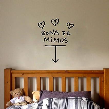 adesivo murale Spagnolo Zona De Mimos Home Decor Soggiorno ...