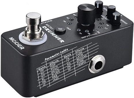 Guitar Effector Digital Drum Machine Pedal de efecto de guitarra ...