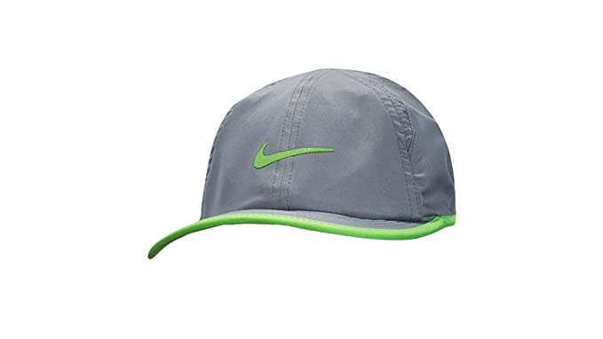 0a554b4a169ea3 NIKE Boys' or Girls' Featherlight Dri-Fit Hat (12/24 Months, Cool ...