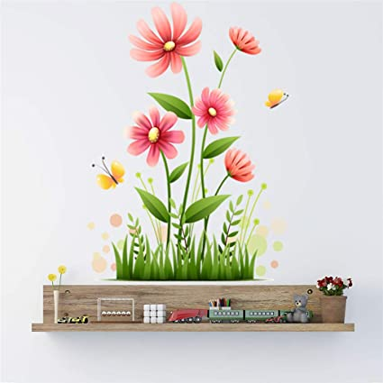Amazon.com: Quaanti Mobile Creative Flower Wall Decor for ...