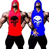 GZXISI Men's Gym Bodybuilding Stringer Tank Top Muscle Workout Shirt Fitness Sleeveless Vest
