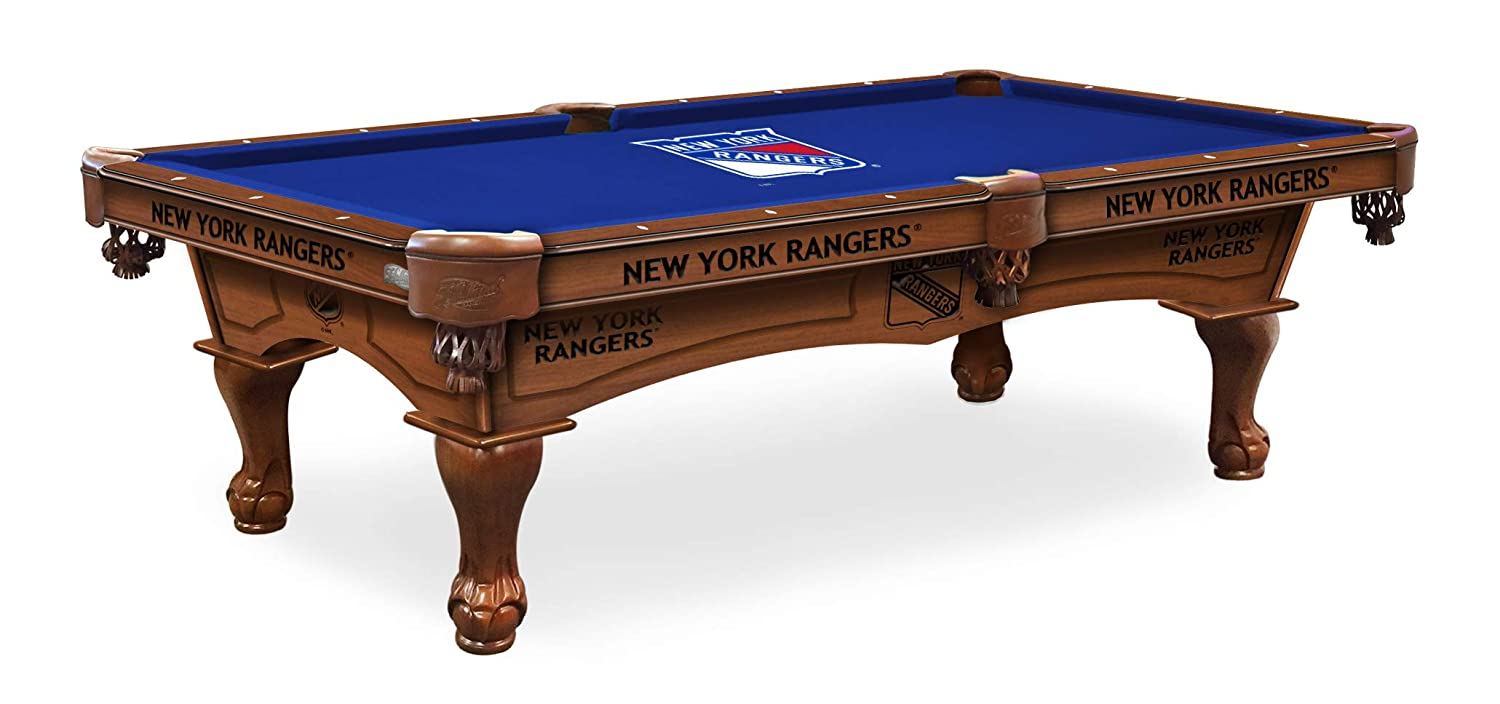 Holland Bar Stool New York Rangers Mesa de Billar con Logo de 8 ...