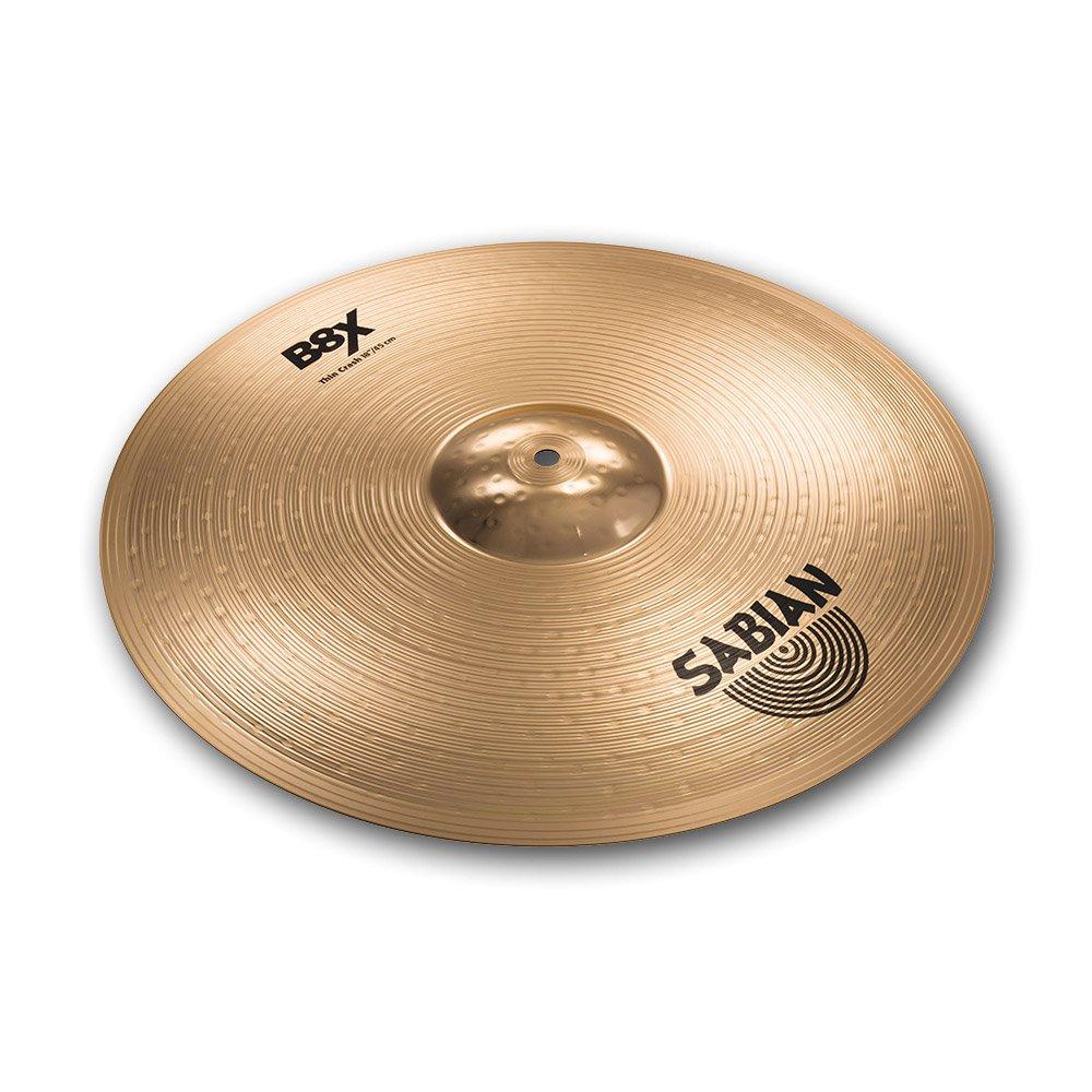 Sabian 41706X 17-Inch B8X Thin Crash Cymbal