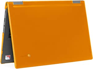"mCover Hard Shell Case for 2019 14"" Lenovo 14e Series Chromebook Laptop (NOT Fitting Older 14"" Lenovo N42 / S330 and 11.6"" N22 / N23 / N24, etc Chromebook) (LEN-C14e Orange)"