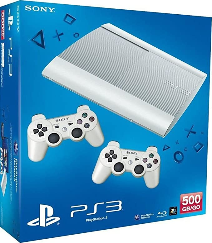 Sony PlayStation 3 Super Slim, 500GB Blanco Wifi - Videoconsolas ...