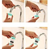 potato001 Home Kitchen Faucet Filter Magnetic Water Purifier Bathroom Water-saving Device White