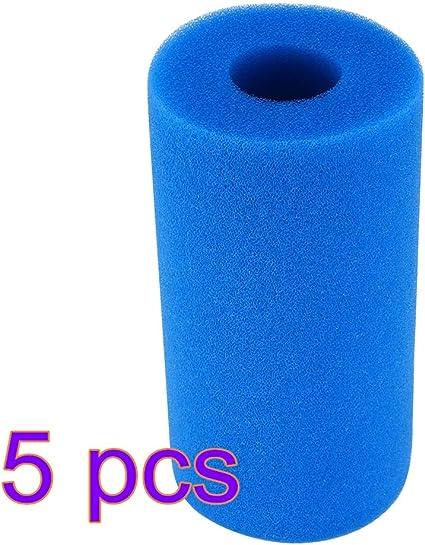 Pool Filter Cartridge for Intex S1 Type 2 Pack Filter Sponge Reusable Washable Filter Cleaner Tool Foam Cartridge Sponge