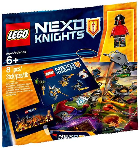 8 Piece Polybag Set NA LEGO NEXO KNIGHTS/™ Intro Pack 5004388