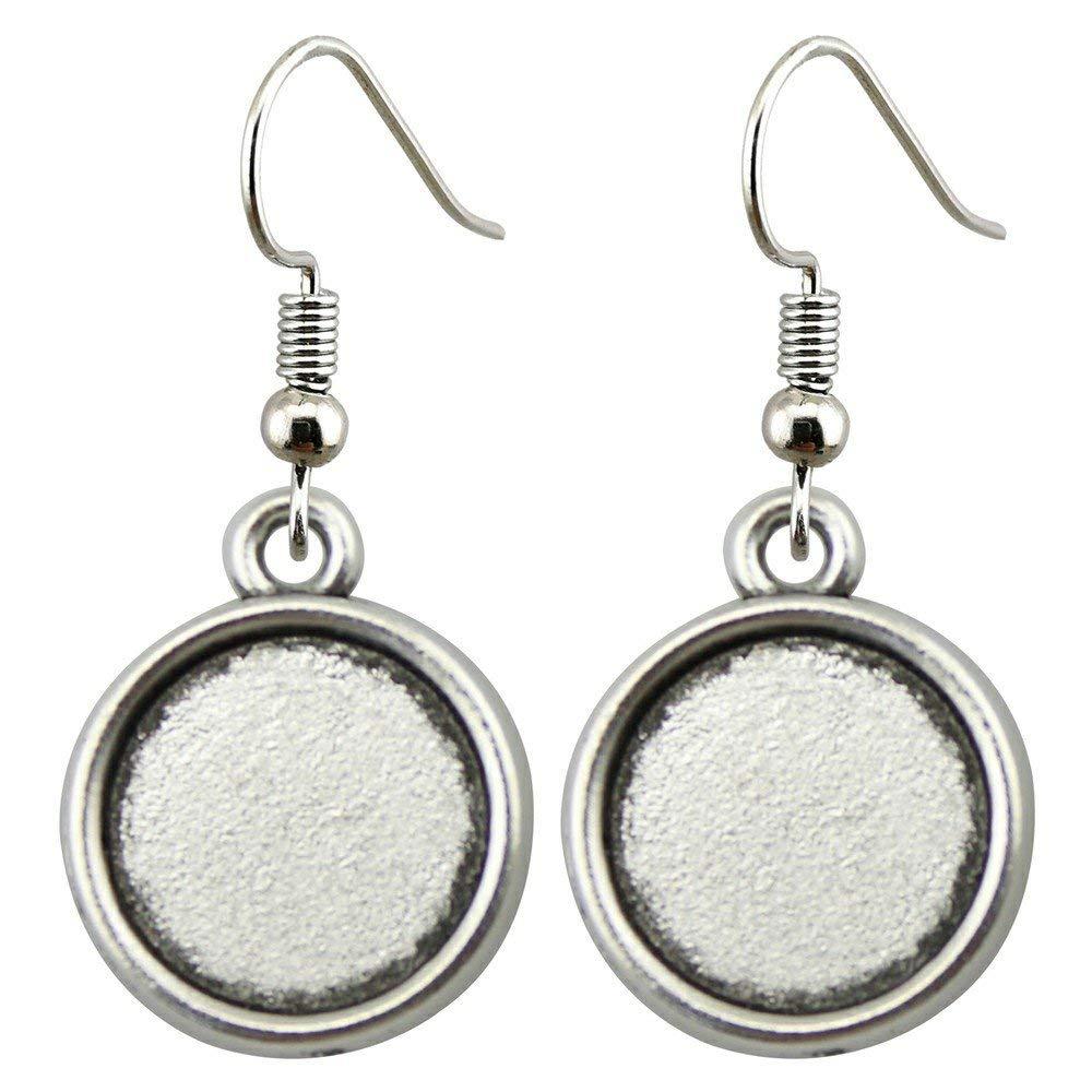 Taliyah 1 Pair Classic Drop Earrings Earrings for Girls with Earring Backs Stopper