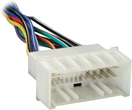 Amazon.com: Metra 70-1004 Radio Wiring Harness for 04-Up Kia/06-Up Hyndai:  Car ElectronicsAmazon.com
