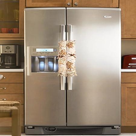 Set de 2 encaje lado frigorífico microondas hornos microondas ...