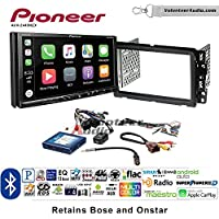 Volunteer Audio Pioneer AVH-2440NEX Double Din Radio Install Kit with Apple CarPlay, Android Auto and Bluetooth Fits 2013-2014 Buick Enclave, 2013-2014 Chevrolet Traverse (Bose and Onstar)