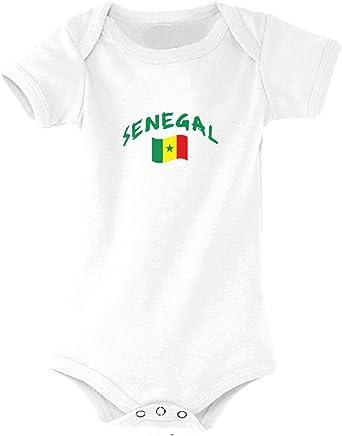 Supportershop Senegal Body, Bebé-Niños: Amazon.es: Ropa y accesorios