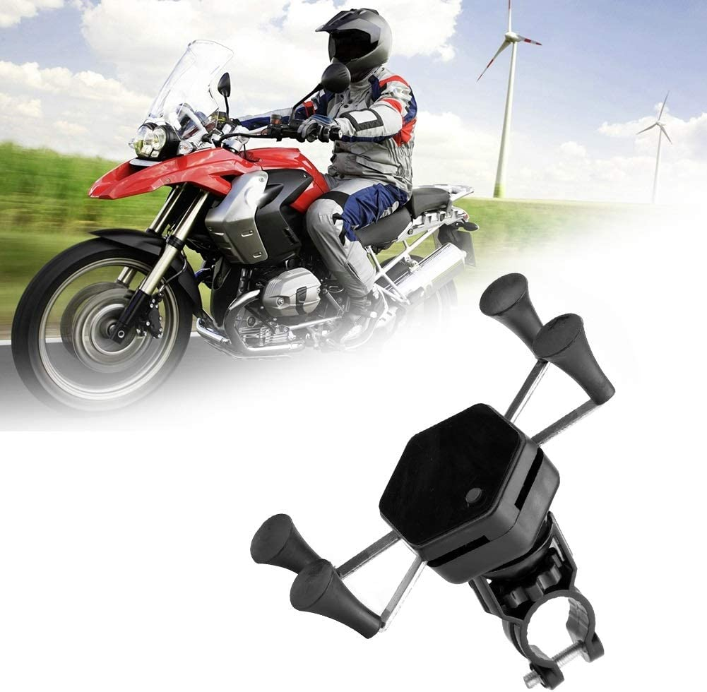 Motorrad Handyhalter Tragbare X Förmige Motorrad Handyhalter Universal Waterproof Phone Stand Garten