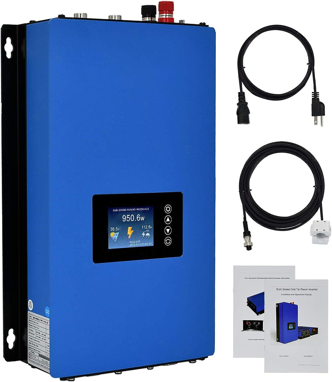 Tools & Equipment ECO-WORTHY Solar on Grid Tie Inverter Power ...