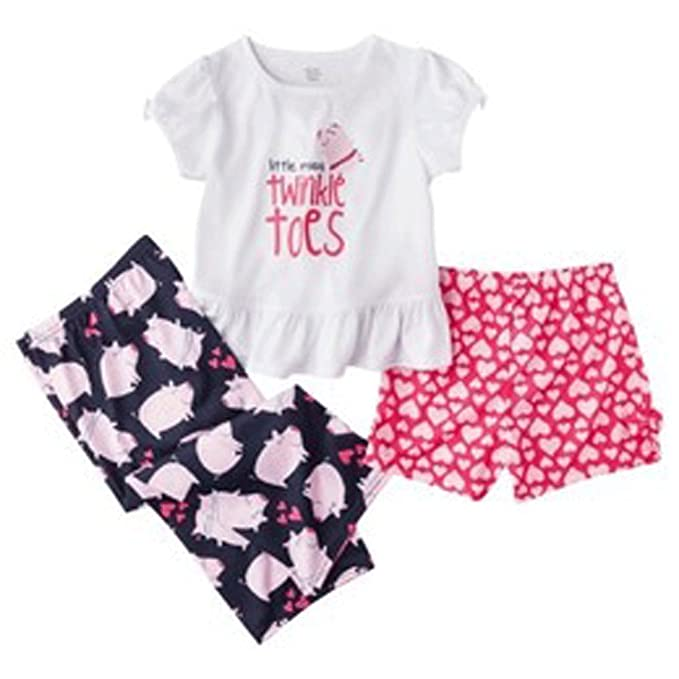 75796dd32d Carter s Just One You Made By Toddler Girls Little Miss 3pc Set Pink ...