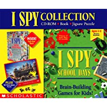 I Spy Collection School Days Brain Building Game
