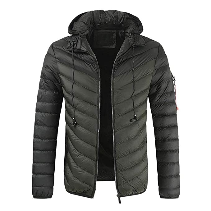 Beautyfine Mens Pullover Winter Jackets Hooed Fleece Hoodies Sweatshirt Wool Fleece Warm Thick Long Sleeve Coats