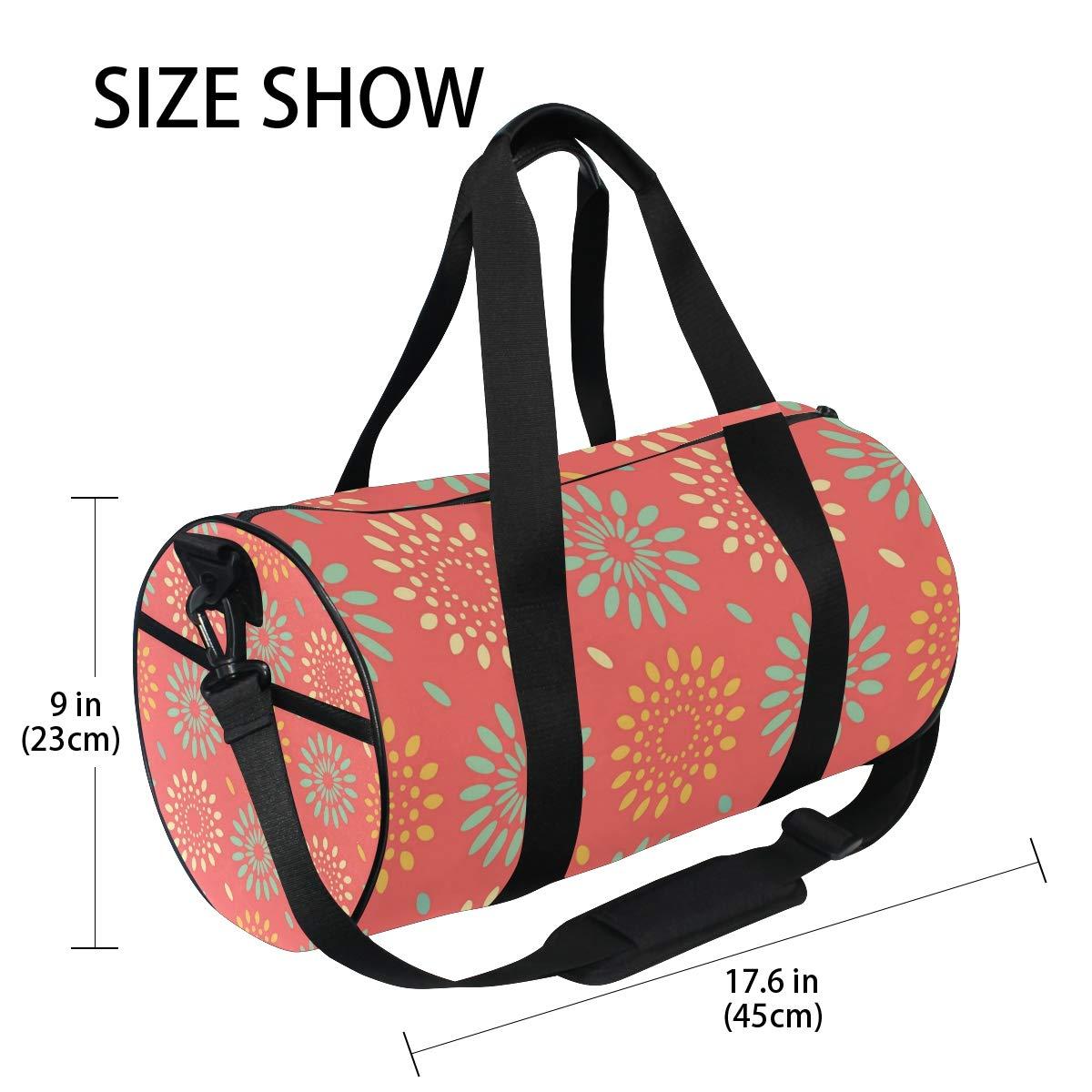 Red Snowflake RaindropsWaterproof Non-Slip Wearable Crossbody Bag fitness bag Shoulder Bag