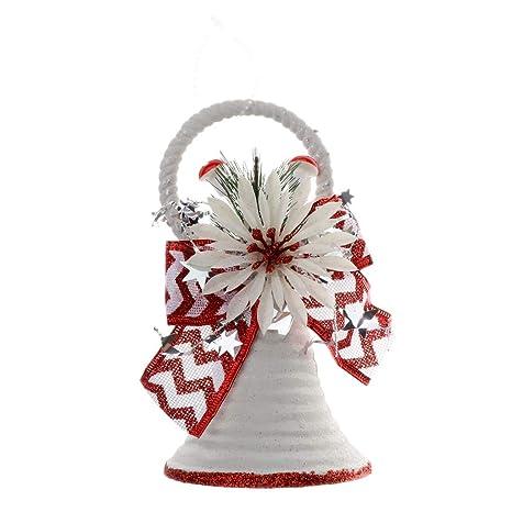 SM SunniMix Campana Colgantes de Navidad Decoración Navidad Plástico Tinkle Embellecedor Regalos Personalizados