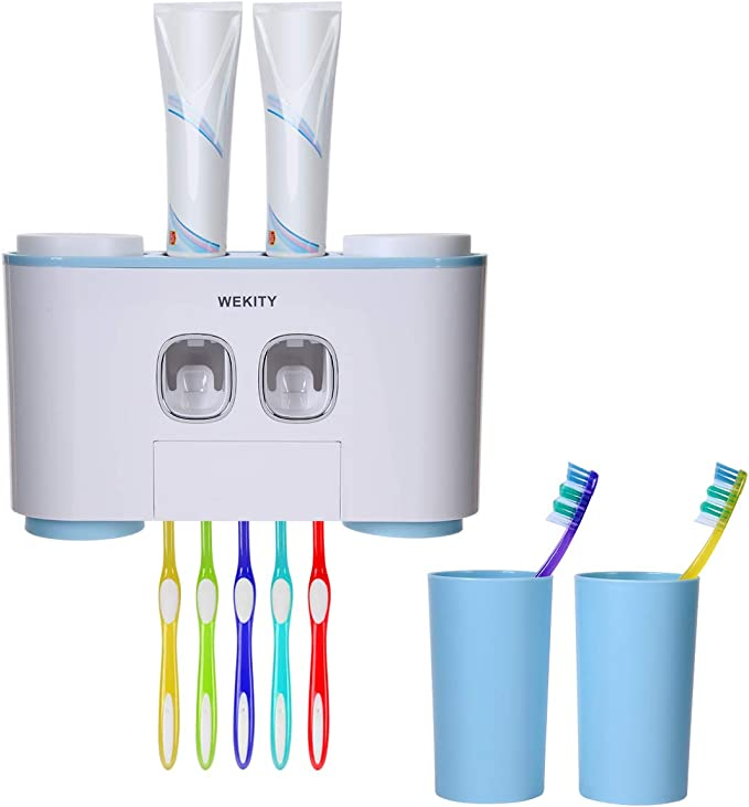 Travel Toothbrush Cup Wash Cup Tragbare Trips Holder Organizer weiß